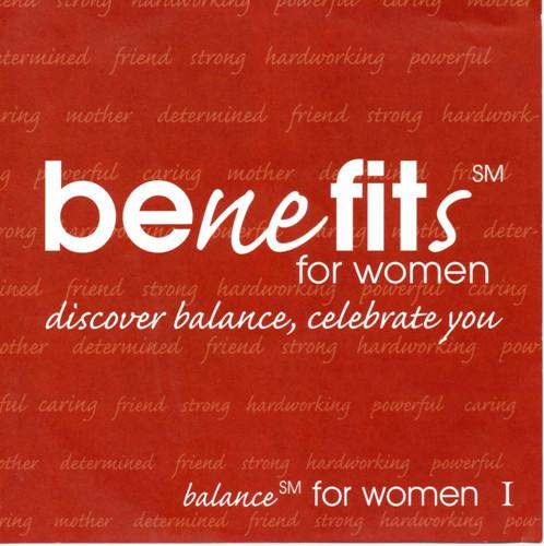 BENEFITS FOR WOMEN-CD