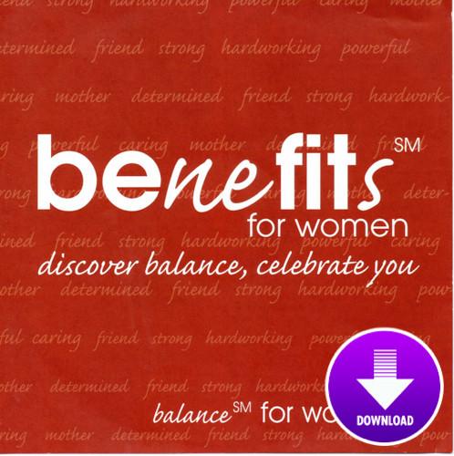 BENEFITS FOR WOMEN-Digital Download