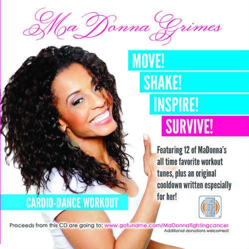MaDonna Grimes Cardio-Dance Workout-CD