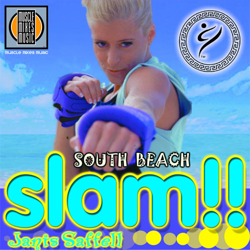 SOUTH BEACH SLAM featuring Janis Saffell-CD