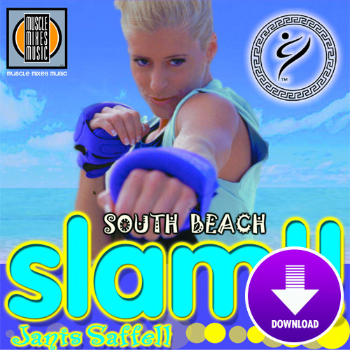 SOUTH BEACH SLAM featuring Janis Saffell-Digital Download