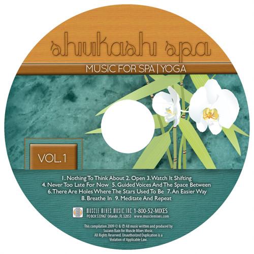 SHIVIKASHI SPA MUSIC-CD