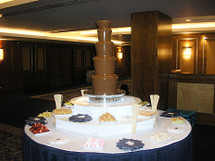 Large Chocolate Fountain Hire Package