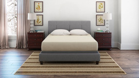 Chime 12 Inch Foam Mattress White King Mattress