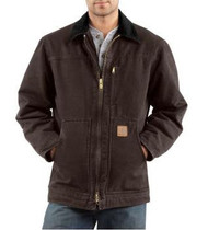 Men's Carhartt Sandstone Ridge Coat/Sherpa Lined