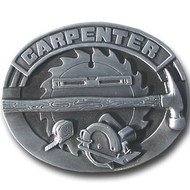 Carpenter Pewter Belt Buckle