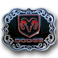 Dodge Enamel Belt Buckle