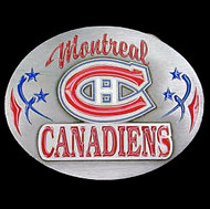 Montreal Canadiens Enamel Belt Buckle