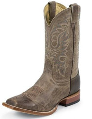 Men's Nocona Square Toe Walking Heel Cowboy Boot