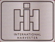 International Harvester Pewter Belt Buckle