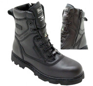 "Men's Royer 8"" Metal Free Safety Boot with Zipper"