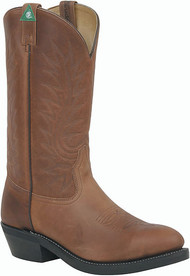 Canada West Safety Oiled Brown Leather Lined Western Boot