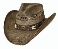 "Bullhide ""Desparado"" Straw Hat"