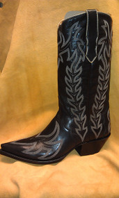 Liberty Boot Co.'s Diablo Negro Cowboy Boot