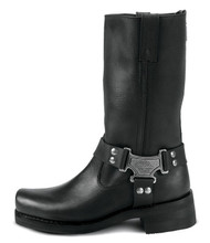 Women's Milwaukee Harness Bike Boot with Zipper