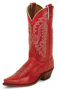 Women's Nocona Red Western Boot