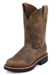 Justin Men's CSA Pull-On Gaucho Safety Boot
