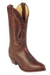 Men's Boulet Oiled Dark Brown Medium Round Toe Cowboy Boot