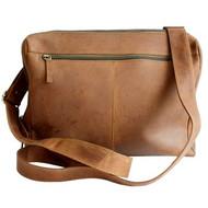 Adrian Klis Large Leather Messenger Bag 2592