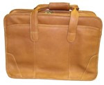 Queros Leather Laptop Briefcase/Carrying Case