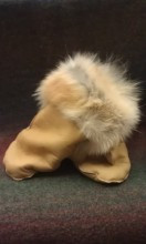 Coyote Fur Mittens