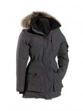 Women's Quartz Co. Nadine Charcoal Down Coat