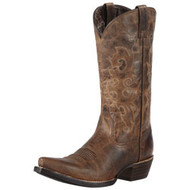 "Women's Ariat Alabama ""Sassy Brown"" Cowboy Boot"
