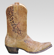 "Women's Old Gringo ""Leopardito"" Cowboy Boot"