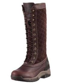 Women's Ariat Jena Insulated Waterproof Dark Brown Riding Boot