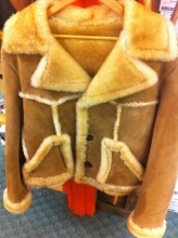 Bomber Sheepskin Jacket
