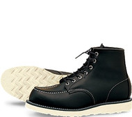 Men's Red Wing Heritage Black Moc Toe Boot