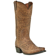 Men's Dan Post Tan Sidewinder Western Boot