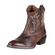 "Women's Ariat ""Sassy Brown"" Billie Zippered Boot"