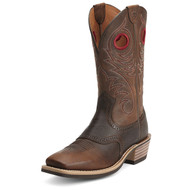 Men's Ariat Wide Square Toe Roughstock Western Boot