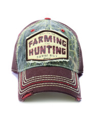 "Farm Boy Brand ""When I'm Not Farming, I'm Hunting"" Cap"