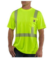 Men's Carhartt Force Hi-Vis T-Shirt with Reflective Tape