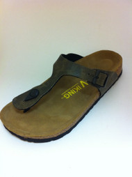 Women's Viking Thong Vintage Brown Sandal