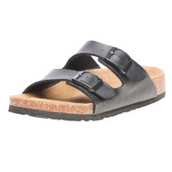 Women's Viking Two Strap Black Sandal