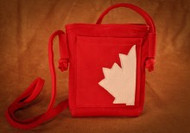 Hides in Hands Canadian Maple Leaf Purse