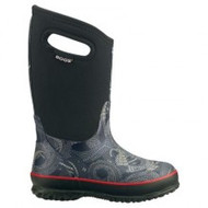 Bogs Kids' Classic Snake Rated -30 Winter Boot