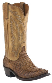 Men's Lucchese Caimen Tail Conrad Western Boot