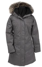 Women's Quartz Nature Kimberly Dark Grey Coat