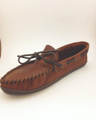Men's Wakonsun Peanut Wrap Rubber Sole Moccasin