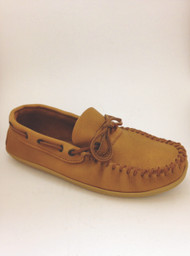 Men's Wakonsun Moccasin Cork Colour with Rubber Sole