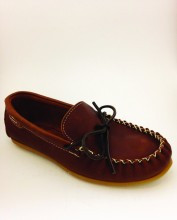 Men's Wakonsun Peanut Rubber Sole Moccasin
