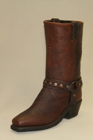 Women's Sage Dark Brown Harness Bike Boot
