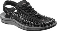 Men's KEEN UNEEK Black/Gargoyle Sandal