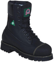 "Women's Canada West 8"" Black #6204 Safety Boot"