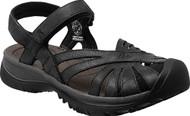 Women's Keen Rose Black Leather Sandal