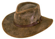 Outback Trading Kodiak Leather Hat